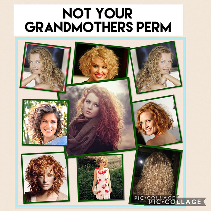 Not your Grandmother's Perm